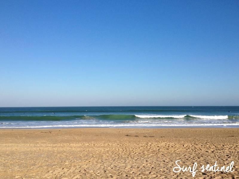 Photo du spot Mané Gwen à Plouharnel : Prévisions de vagues en temps réel