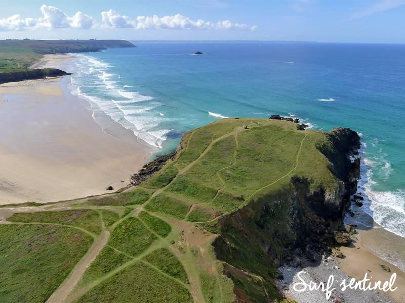 Photo du spot Lostmarc'h à Crozon : Prévisions de vagues en temps réel