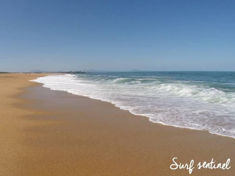 Photo du spot Les cavaliers à Anglet : Prévisions de vagues en temps réel