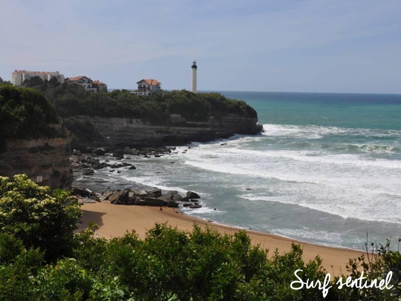 Photo du spot La Petite Chambre d'Amour (VVF) à Anglet : Prévisions de vagues en temps réel
