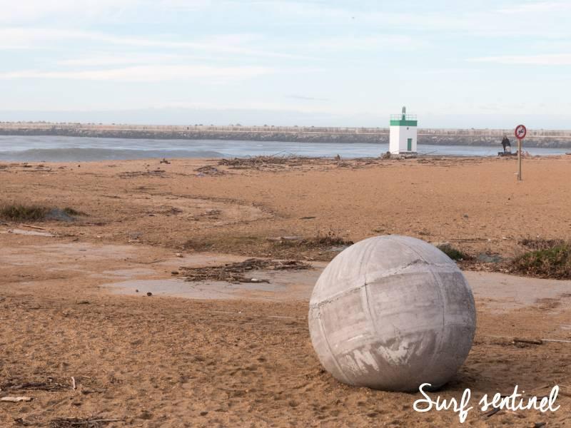 Photo du spot La Barre à Anglet : Prévisions de vagues en temps réel