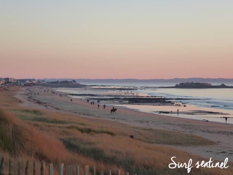 Photo du spot Pen Er Malo (Fort Bloqué) à Guidel : Prévisions de vagues en temps réel