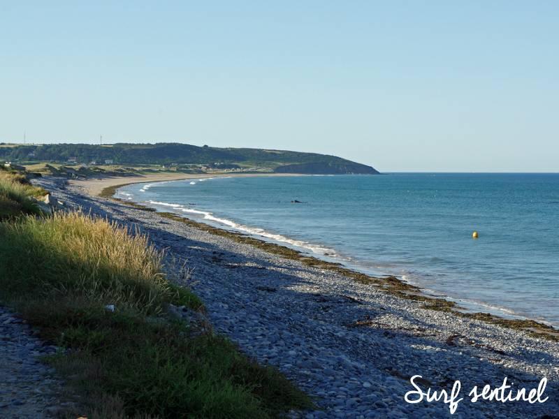 Photo du spot Plage du Rozel à Le Rozel : Prévisions de vagues en temps réel