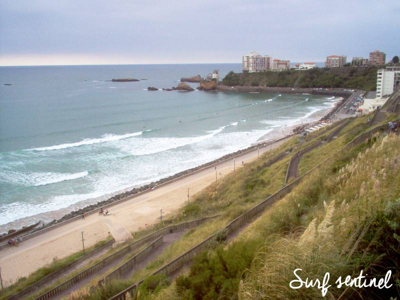 Photo du spot La Côte des basques à Biarritz : Prévisions de vagues en temps réel