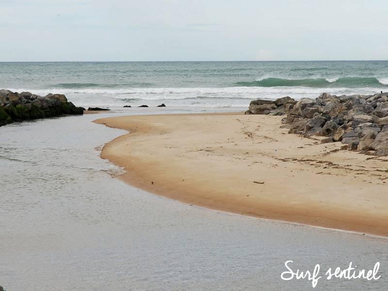 Photo du spot Uhabia à Bidart : Prévisions de vagues en temps réel