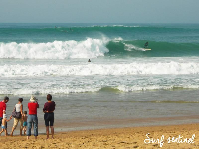 Photo du spot La Centrale à Soorts-Hossegor : Prévisions de vagues en temps réel