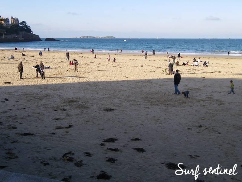 Photo du spot L'écluse à Dinard : Prévisions de vagues en temps réel