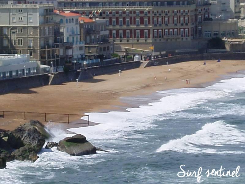 Photo du spot Le Miramar à Biarritz : Prévisions de vagues en temps réel