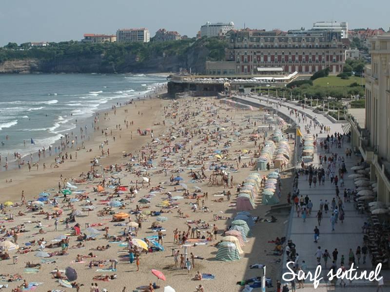 Photo du spot La Grande Plage à Biarritz : Prévisions de vagues en temps réel