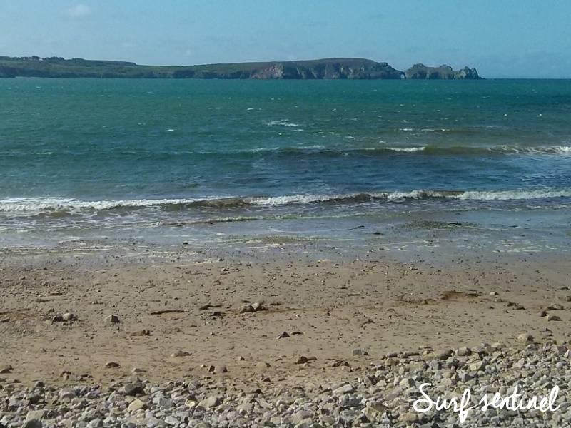 Photo du spot Kerloc'h (Kersiguénou) à Crozon : Prévisions de vagues en temps réel