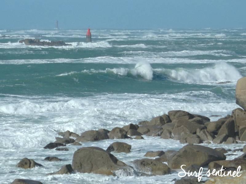 Photo du spot Gouérou à Lampaul-Plouarzel : Prévisions de vagues en temps réel