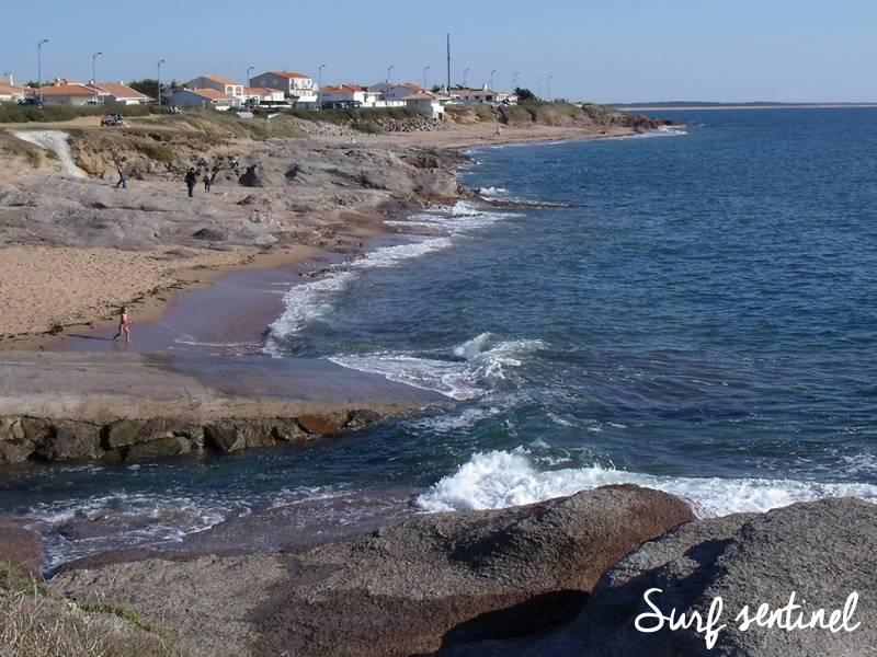 Photo du spot La Sauzaie à Brétignolles-sur-Mer : Prévisions de vagues en temps réel