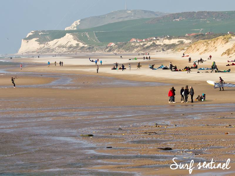 Photo du spot Wissant à Wissant : Prévisions de vagues en temps réel