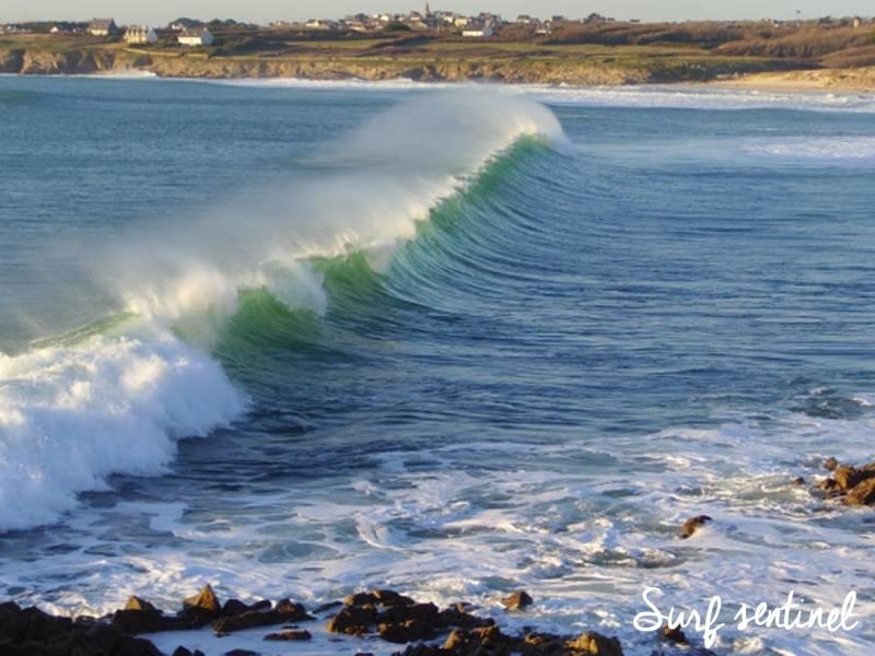 Photo du spot Saint Tugen à Esquibien : Prévisions de vagues en temps réel