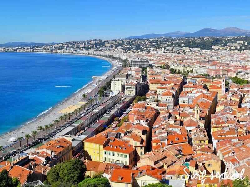 Photo de la ville Nice : Prévisions de vagues en temps réel à Nice