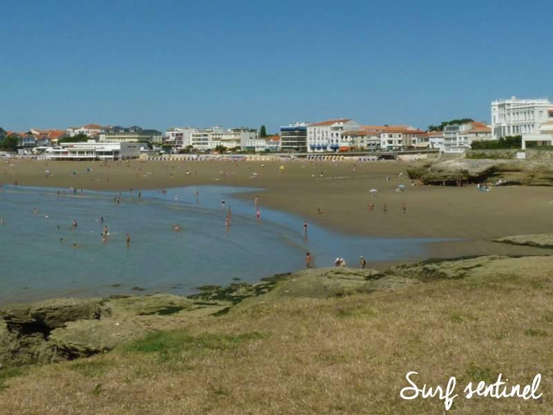 Photo du spot Conche de Pontaillac à Royan : Prévisions de vagues en temps réel