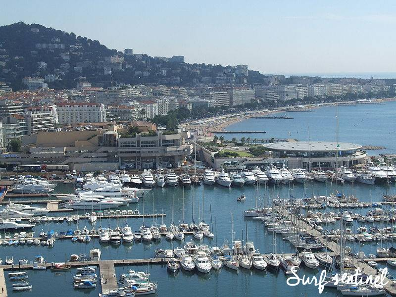 Photo de la ville Cannes : Prévisions de vagues en temps réel à Cannes