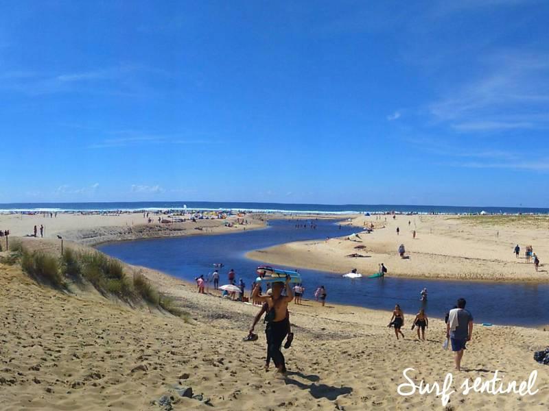 Photo du spot La Centrale à Moliets-et-Maa : Prévisions de vagues en temps réel
