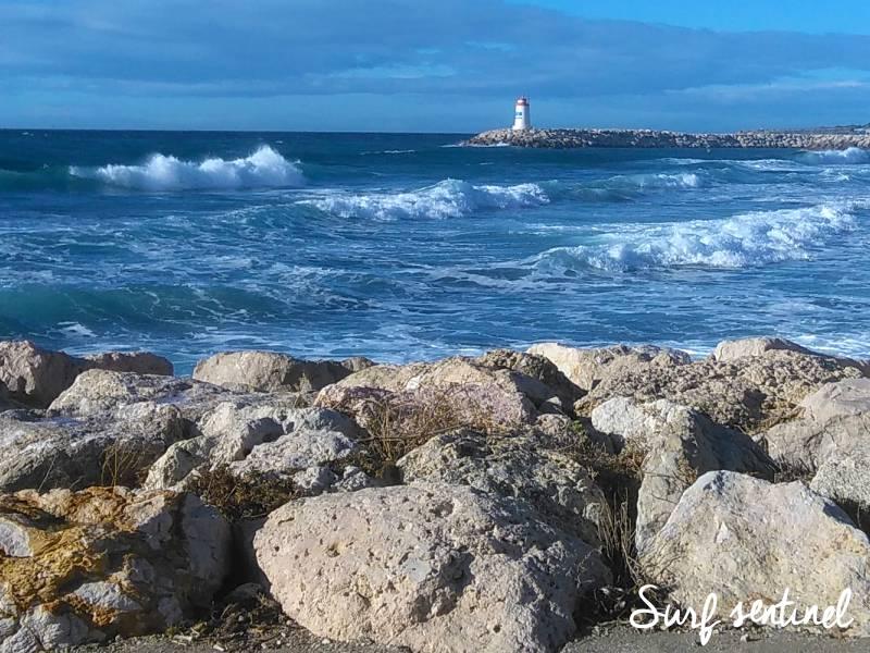 Photo du spot L'Hermitage à Sausset-les-Pins : Prévisions de vagues en temps réel