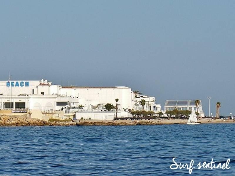 Photo du spot Palm Beach - Plage Gazaniaire à Cannes : Prévisions de vagues en temps réel