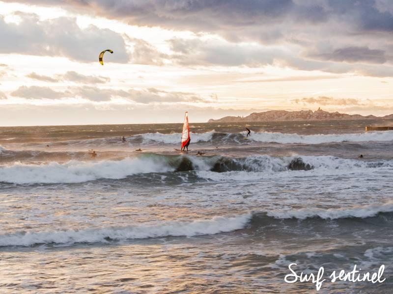 Photo du spot Le Prado à Marseille : Prévisions de vagues en temps réel