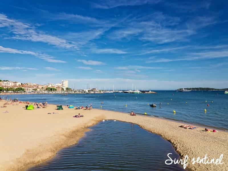 Photo du spot La Madrague (Sainte-Maxime) à Sainte-Maxime : Prévisions de vagues en temps réel