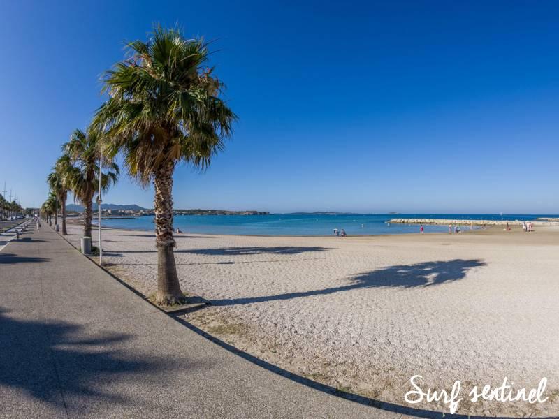 Photo du spot Brutal Beach (Bonnegrâce) à Six-Fours-les-Plages : Prévisions de vagues en temps réel