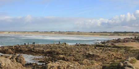 Météo des vagues et surf report sur le spot de surf de  La Torche à Plomeur, Finistère