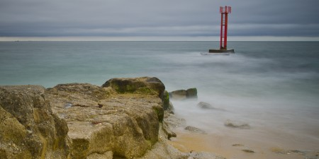 Météo des vagues et surf report sur le spot de surf de  Barre d'Etel à Plouhinec, Morbihan