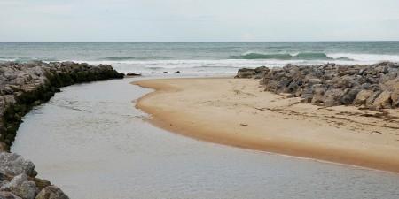 Météo des vagues et surf report sur le spot de surf de  Uhabia à Bidart, Pyrénées-Atlantiques