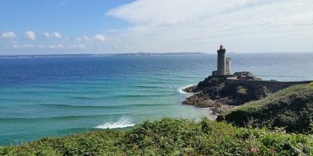 Météo des vagues et surf report sur le spot de surf de  Le petit Minou à Plouzané, Finistère