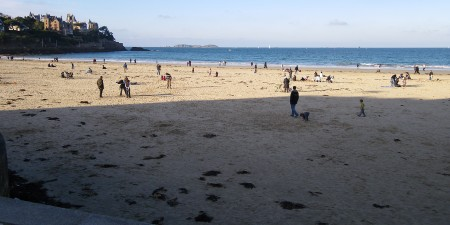 Météo des vagues et surf report sur le spot de surf de  L'écluse à Dinard, Ille-et-Vilaine