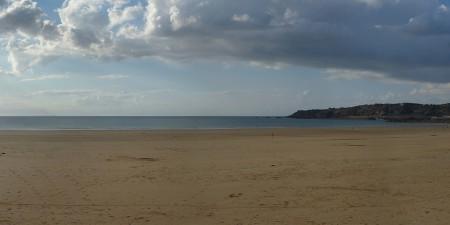 Météo des vagues et surf report sur le spot de surf de  Caroual à Erquy, Côtes-d'Armor