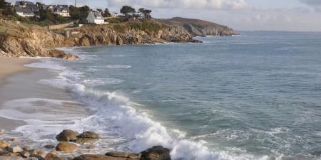 Météo des vagues et surf report sur le spot de surf de  Trégana à Locmaria-Plouzané, Finistère