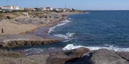 Météo des vagues et surf report sur le spot de surf de  La Sauzaie à Brétignolles-sur-Mer, Vendée