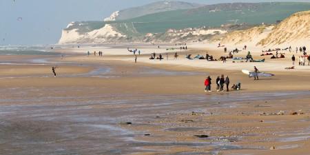 Météo des vagues et surf report sur le spot de surf de  Wissant à Wissant, Pas-de-Calais