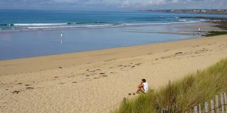 Météo des vagues et surf report sur le spot de surf de  Plage Du Loch à Guidel, Morbihan