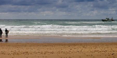 Météo des vagues et surf report sur le spot de surf de  La Centrale à Lacanau, Gironde
