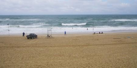 Météo des vagues et surf report sur le spot de surf de  Vieux Boucau à Vieux-Boucau-les-Bains, Landes