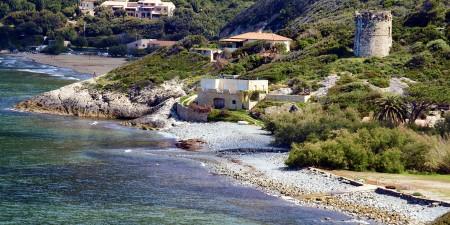 Météo des vagues et surf report sur le spot de surf de  Farinole à Farinole, Haute-Corse