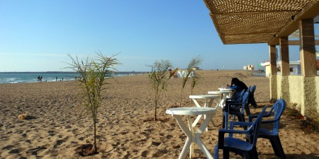 Météo des vagues et surf report sur le spot de surf de  Moun (Mehdia) à Kénitra, Province de Kénitra
