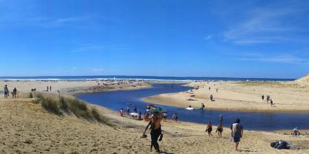 Météo des vagues et surf report sur le spot de surf de  La Centrale (Moliets) à Moliets-et-Maa, Landes