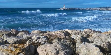 Météo des vagues et surf report sur le spot de surf de  L'Hermitage à Sausset-les-Pins, Bouches-du-Rhône