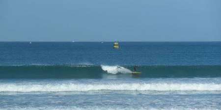 Météo des vagues et surf report sur le spot de surf de  Le Dossen à Santec, Finistère