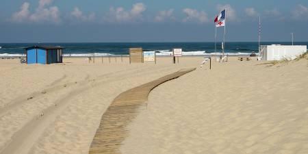 Météo des vagues et surf report sur le spot de surf de  La Salie Nord à La Teste-de-Buch, Gironde